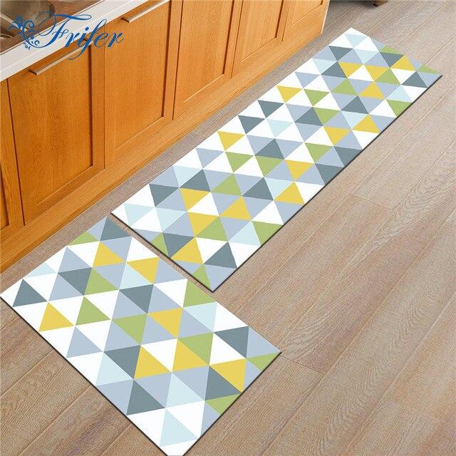 Türmatten Für Home Eingangstür Teppich Geometrische Muster Teppiche