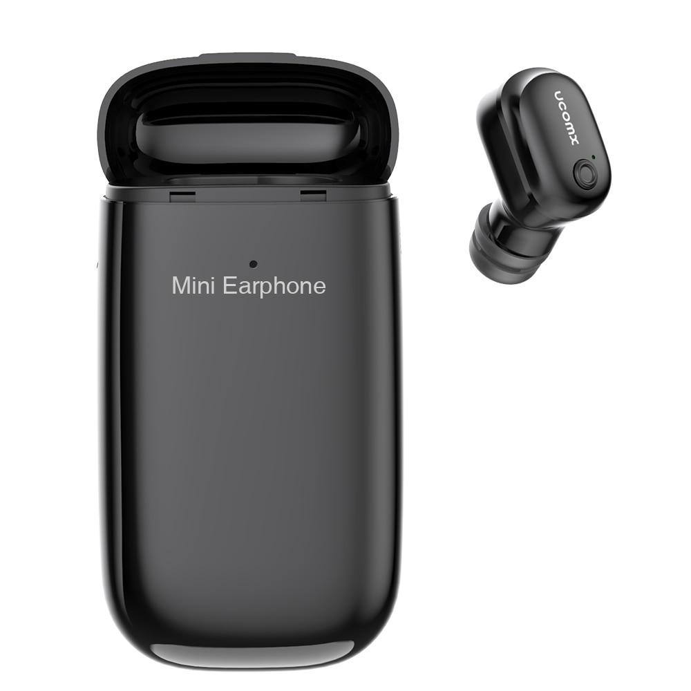Ucomx U6e Bluetooth Earphone With Charging Box Wireless Earbud Hands Free With Mic Bluetooth Earpiece For Iphone Huawei Xiaomi Earphone Invisible Bluetooth Earphonewireless Earbuds Aliexpress