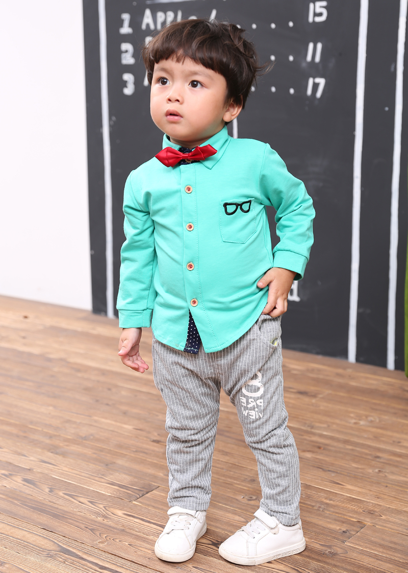 Boutique Kids clothes boys Autumn children clothing sets gentleman ...