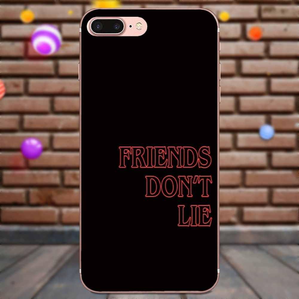 ТВ странные вещи друзья не лгут Новые многоцветные роскошные чехлы для телефонов Xiaomi Redmi Note 2 3 3 S 4 4A 4X5 5A 6 6A Pro Plus