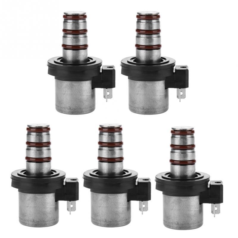 1 46313-39051 Transmission Shift Solenoid Kit Set 5Pcs F4A41 F4A42 F4A51 V4A51