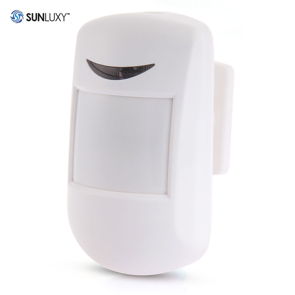SUNLUXY 433MHz Motion Sensor Smart Wireless Motion IR PIR Infrared Detector WL-803W Home Security Home Security Sensors ...
