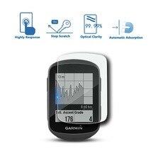 RUIYA (4-pack) protetor de tela para Garmin Edge 130 gps tela, 9 H vidro temperado protege tela de brilho para proteger a visão