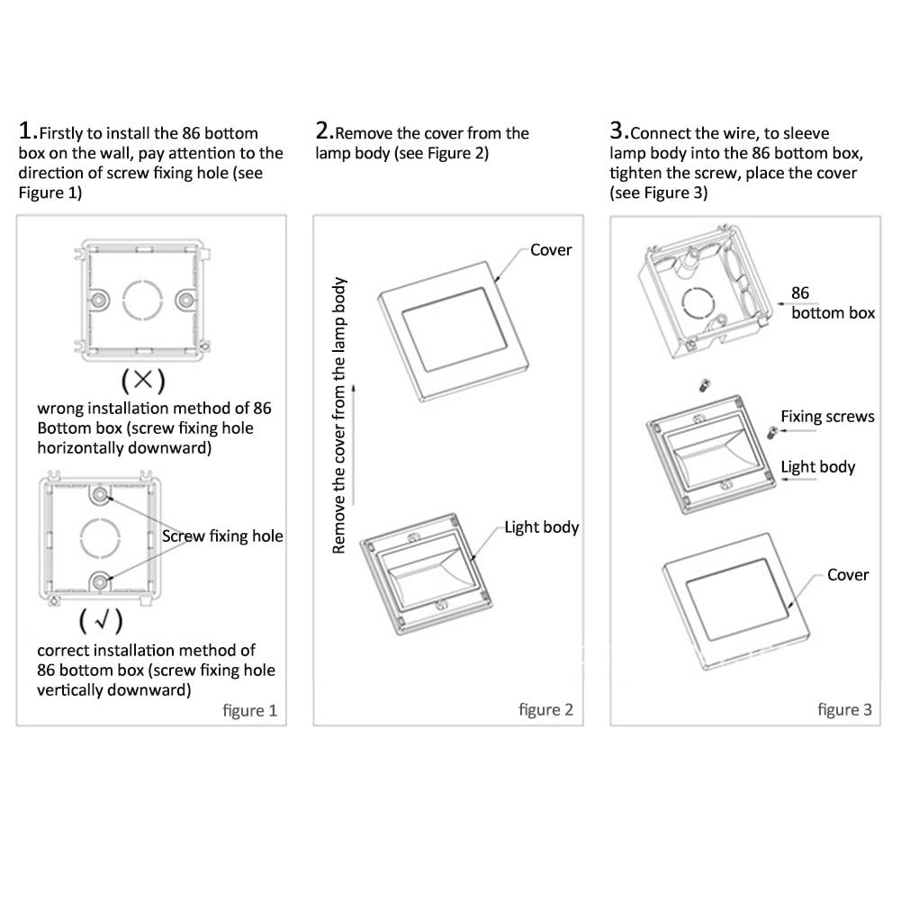 Modern Wall Light Installation Photo - Electrical Diagram Ideas ...