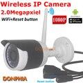 1080 P Full HD Беспроводная Ip-камера 2.0 мегапиксельная открытый Onvif wi-fi с кнопкой сброса nigth видения IRcut P2P CCTV Безопасности камера