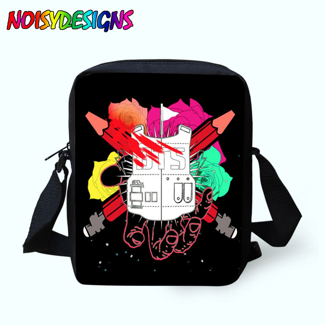 Women Messenger Bags BTS Shoulder Bag Handbags vintage School Bag Children  rugzak Crossbody Bag for Girls 9e7fb971d4c9e