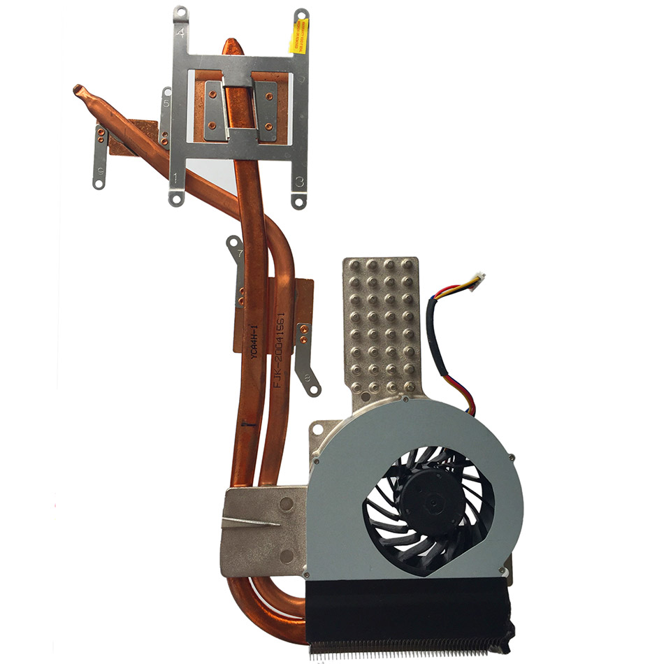 New Original Cpu Cooling Fan Heatsink For ASUS K42 K42D K42DR A40D X42D Cpu Cooler Radiators Laptop Cooling Fan Heatsink
