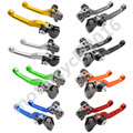 FXCNC CNC Foldable Pivot Brake Clutch Levers Motocross Dirtbike Off Road A Pair For Honda XR250/MOTARD1995-2007 2003 2004 2005