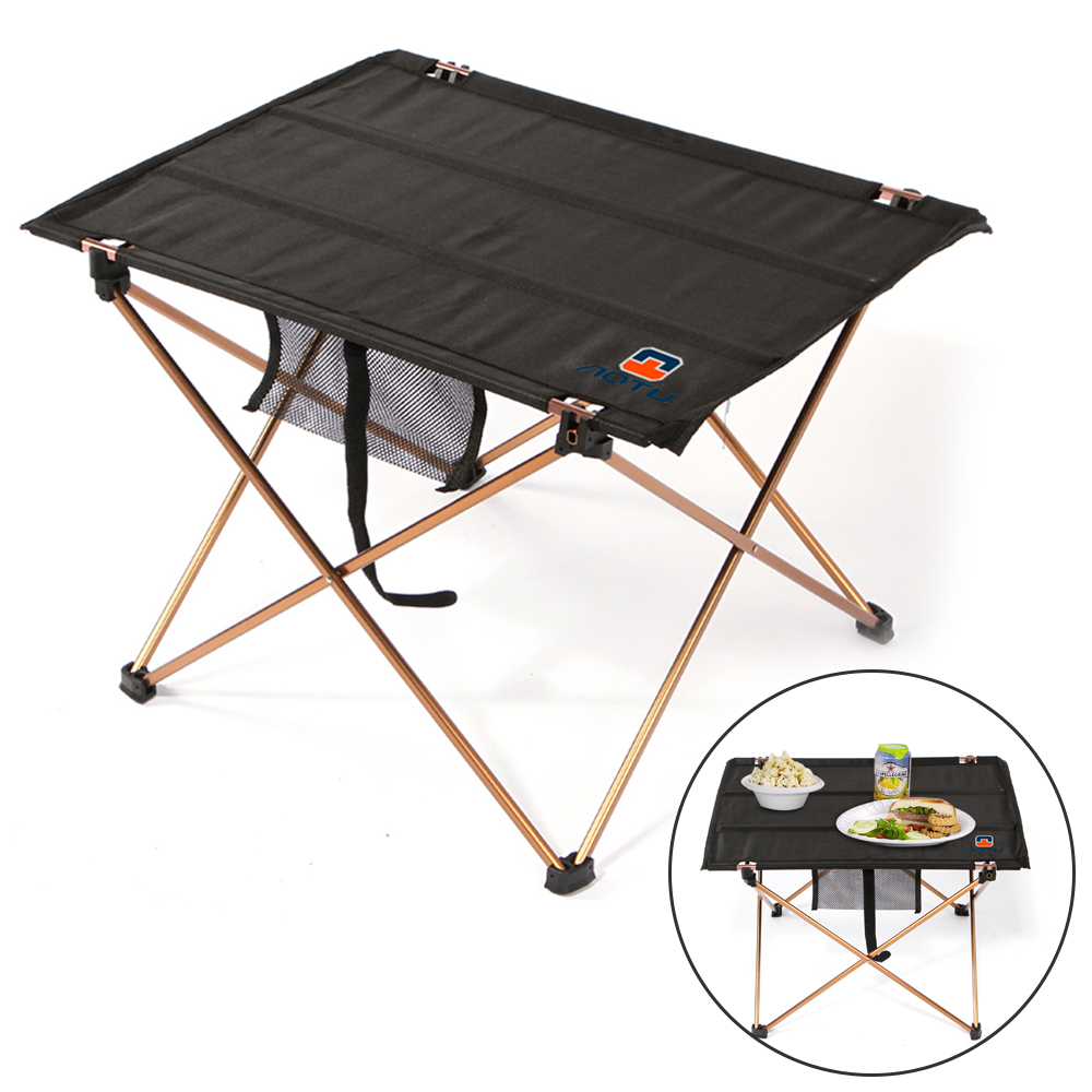 Portable Table courtyard Garden M Picnic Barbecue Desk Folding Camping Outdoor BBQ D20