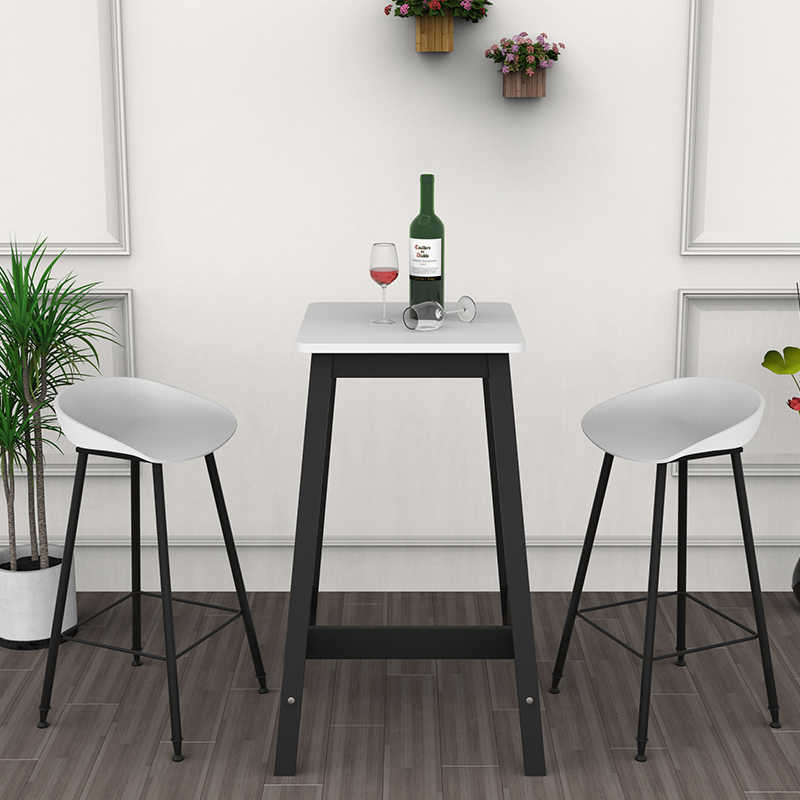 Новый скандинавский барный стул Европейский современный минималистский дом Золотой кованый железный стул креативный барный стул высокий стул