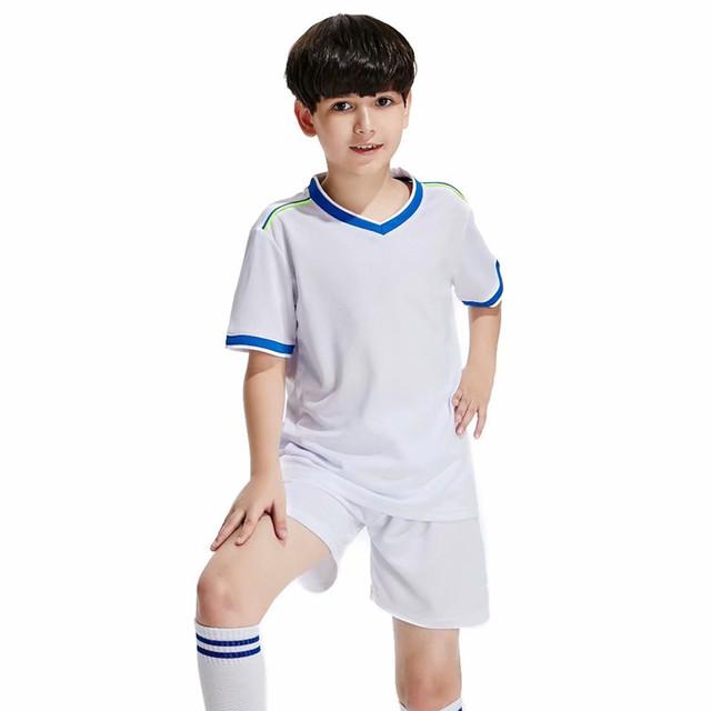 New High Quality Kids Soccer Jerseys Sets Survetement Football Kits Child Futbol Jerseys Training Cheap Uniforms Sets Customized