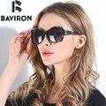 BAVIRON Cidade Tartaruga Olho Óculos De Sol Das Mulheres Óculos Retro Óculos De Sol De Lentes Polarizadas Estilo Gradiente Cores Raios UV400 Gafas 8531