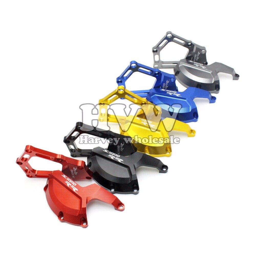 Engine Saver Stator Case Guard Cover /Frame Slider Protector For BMW S1000RR HP4 K42 K46 2009 2010 2011 2012 2013 2014 2015 racing engine stator cover set protector guard for honda cbr1000rr 2008 2009 2010 2011 2012 2013 2014 2015 2016