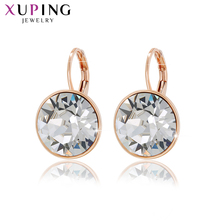 Xuping Jewelry Lovely Fashion Crystals from Swarovski Colorful Earrings Charm for Women Valentine's Day New Year Gift M67-20369 swarovski lovely crystals mini 5242904