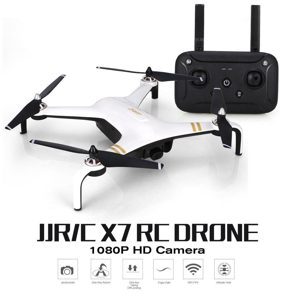 JJR/C X7 SMART RC Helicopter Brushless Motor RC Drone With 5G WiFi FPV 1080P HD Camera GPS Professional QuadcopterJJR/C X7 SMART RC Helicopter Brushless Motor RC Drone With 5G WiFi FPV 1080P HD Camera GPS Professional Quadcopter