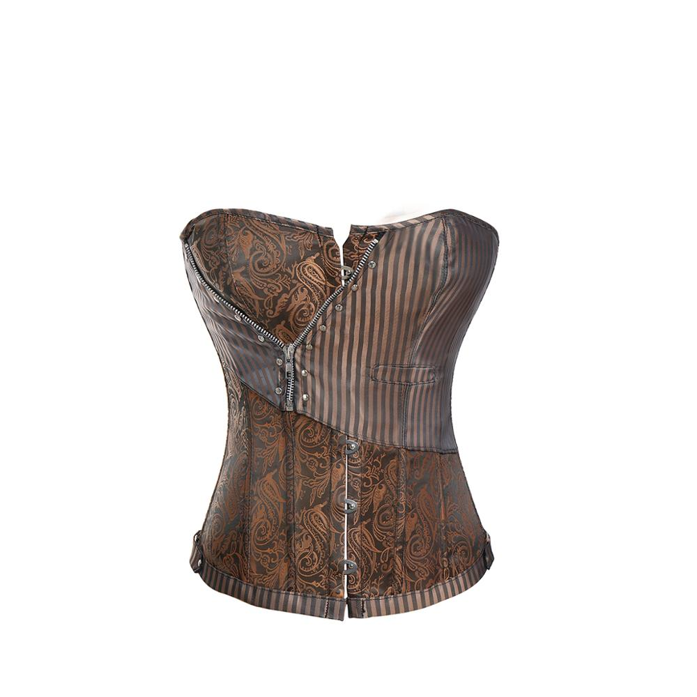 Corsets   Steampunk   Bustiers   sexy   Corset   Top Gothic Style Women Underbust Corselet Bodice Sexy Lingerie Body Shaper   Corset