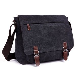 Image 4 - New Men Messenger Bags Fashion Bolsa Masculina Travel Shoulder Bags Portatiles Ordenadores Canvas Briefcase Chapeu Masculino