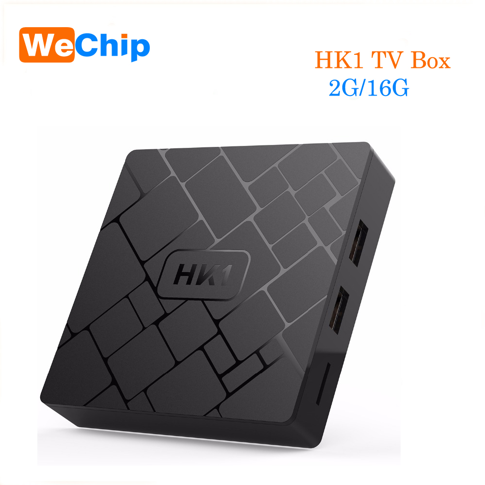 HK1 Android 7.1 TV BOX 2GB 16GB Amlogic S905W Quad Core 2.4GHz WiFi Media Player VP9 H.264 4K Set-top box PK A95X X96 TX3 MINI a95x r1 smart tv box android 6 0 amlogic s905w quad core 1gb8gb 2gb16gb set top box 4k wifi vp9 h 265 hd media player pk x96