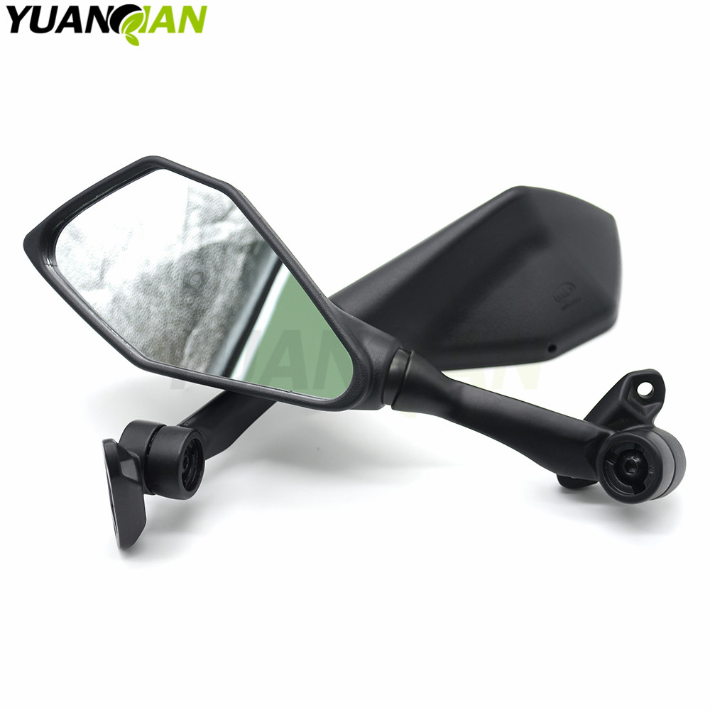 Motorcycle Mirror Black Moto Rearview Side For Ktm Rc8 R Wiring Diagram 1290 Super Duke Gt 990 Superduke 690 1190 Adventure In Mirrors