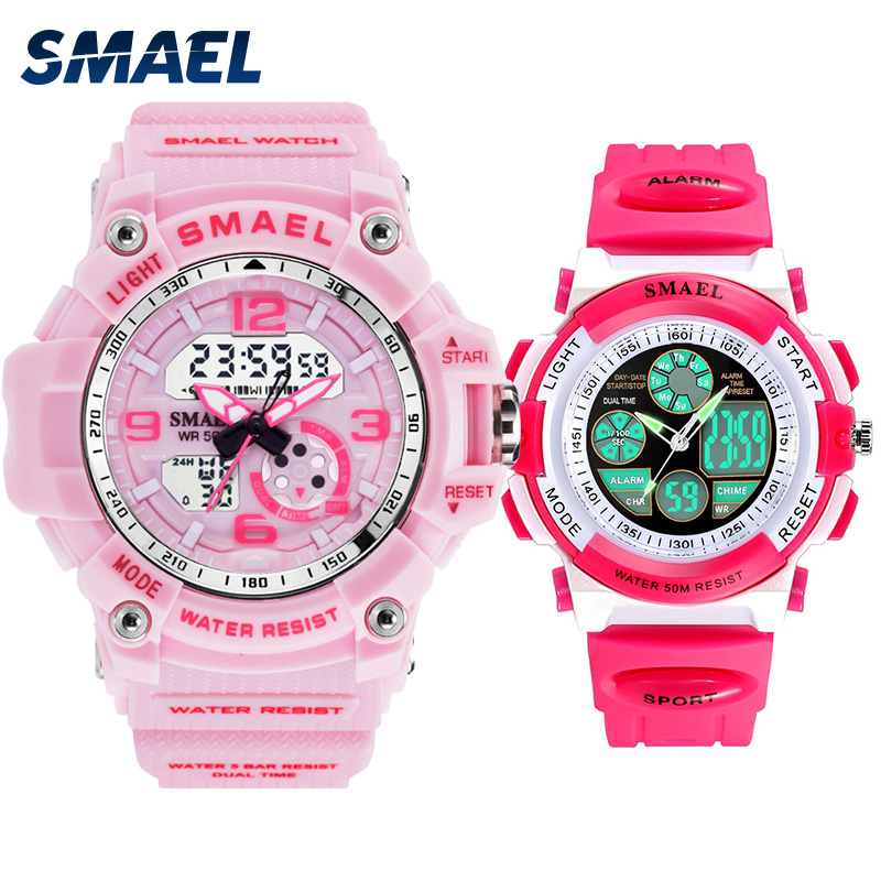 Mother and daughter watch set SMAEL watch for family 0704 1808