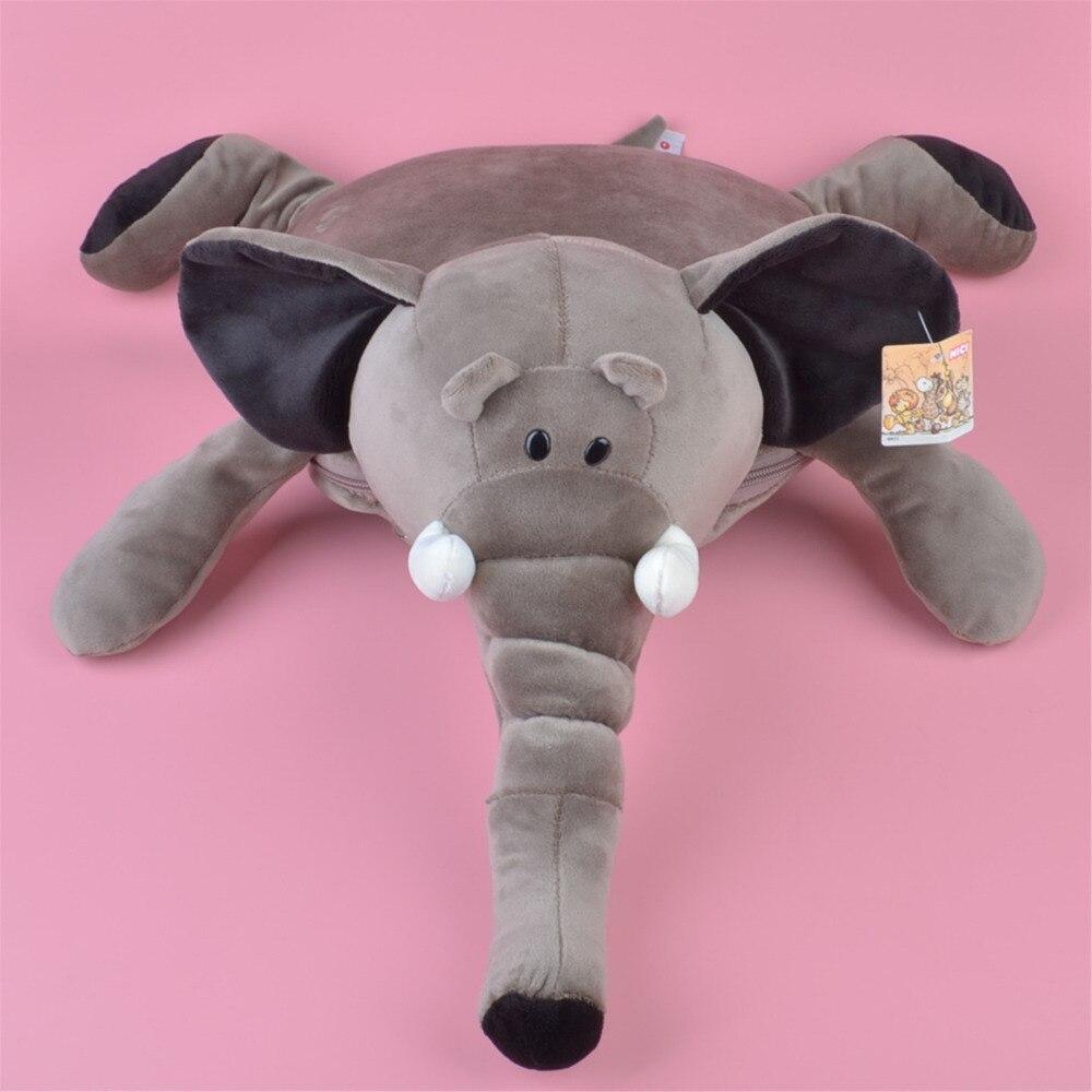Coussin en peluche multifonction, couverture en peluche éléphant forestier cadeau bébé enfants livraison gratuite
