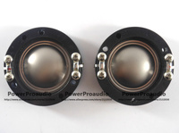 2PCS Diaphragm For Small Driver Titanium Dome Voice Coil 34 4mm 8 Ohm Flat Wire