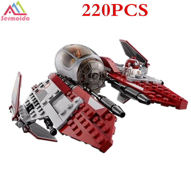 05020 Star Wars Obiwan 39 s Jedi interceptor Micro Fighters Building Bicks Blocks Baby Toys 10575 B103 in Blocks from Toys amp Hobbies