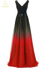 Женское длинное шифоновое вечернее платье bejoy сексуальное