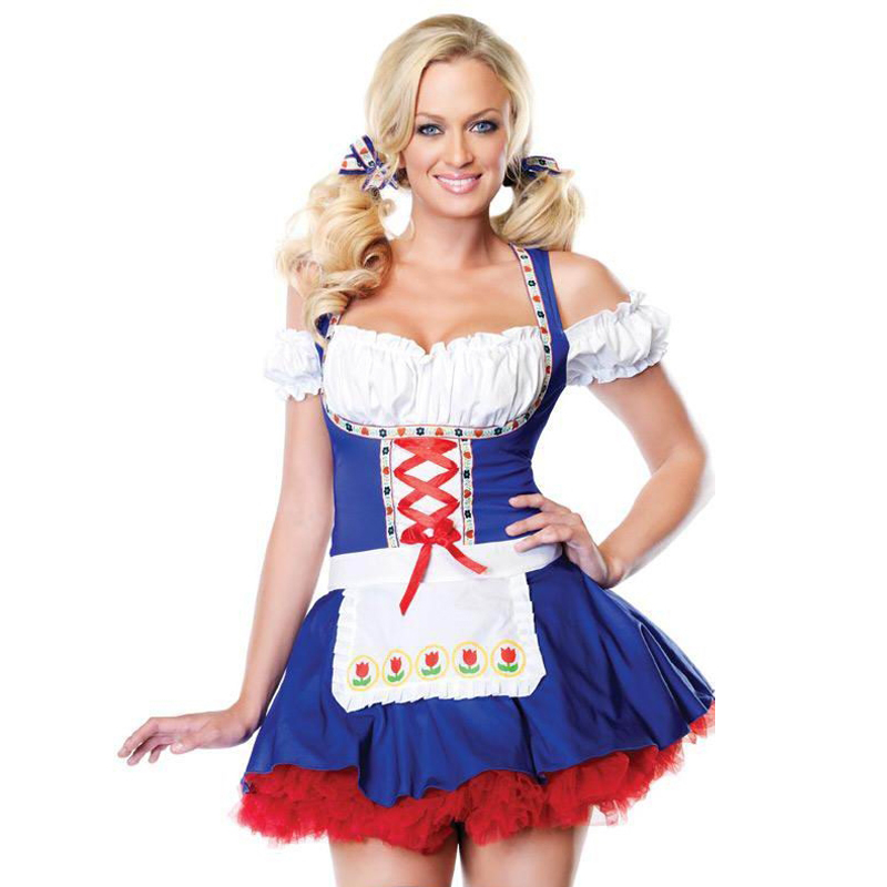 2017 Rushed Fantasia Infantil Costumes Kind of Small Strawberry Princess Dress Cosplay Maid Bar Sexy Stage Clothes Wholesale