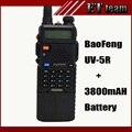 Baofeng УФ-5R УФ-5R рация dual band любительское радио трансивер УВЧ/УКВ 136-174 UHF 400-520 МГц + 3800 мАч длительное Время Автономной uv5r