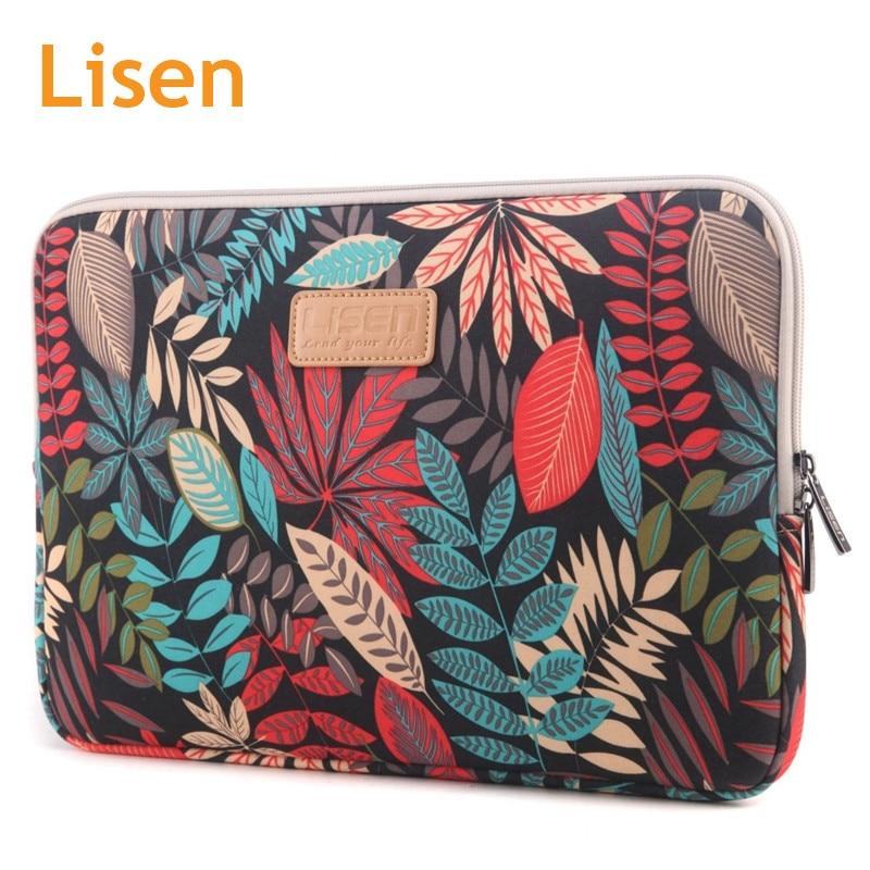 2018 Lisen Brand Sleeve Case For Laptop 11,12,13,14,15,15.6,Bag for Macbook Air Pro 13.3 ...