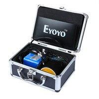 Eyoyo Fish Finder 30M 1000TVL 7 Underwater Video Camera For Fishing Sun Visor 12 LED Monitor