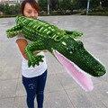 Огромный 190 см имитация крокодиловая плюшевая игрушка мягкая подушка Рождественский подарок b0817