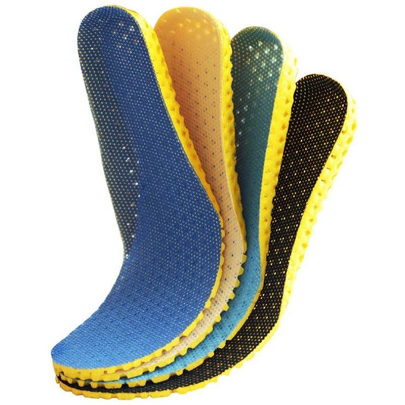 1 Paar Sneaker Dicke Einlegesohle Fußpflege Ferse Spur Laufschuhe Sport Einlegesohlen Dämpfung Pads Arch Orthopädische Einlegesohle