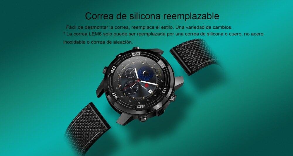 5 LEMFO LEM6 reloj inteligente correa de reemplazo