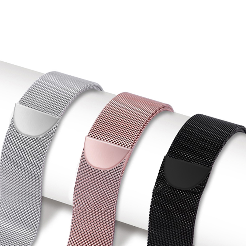 Milanese Loop Strap For Apple Watch Band Correa Apple Watch 4 Band 44mm IWatch 3 2 1 42mm 38mm 40mm Milanese Metal Bracelet