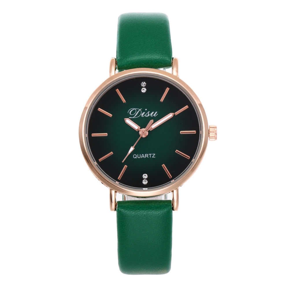 Round Dial Design Women Watches Luxury Fashion Dress Ulzzang Quartz Watch Popular Brand White Ladies Leather Watch Montre Femme