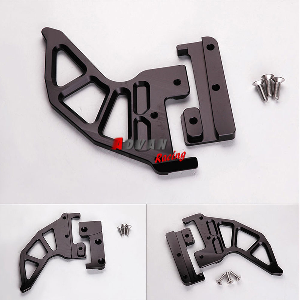 BLACK BILLET REAR BRAKE DISC GUARD PROTECTOR FOR KTM SX XC EXC 2004-2012 billet rear hub carriers for losi 5ive t