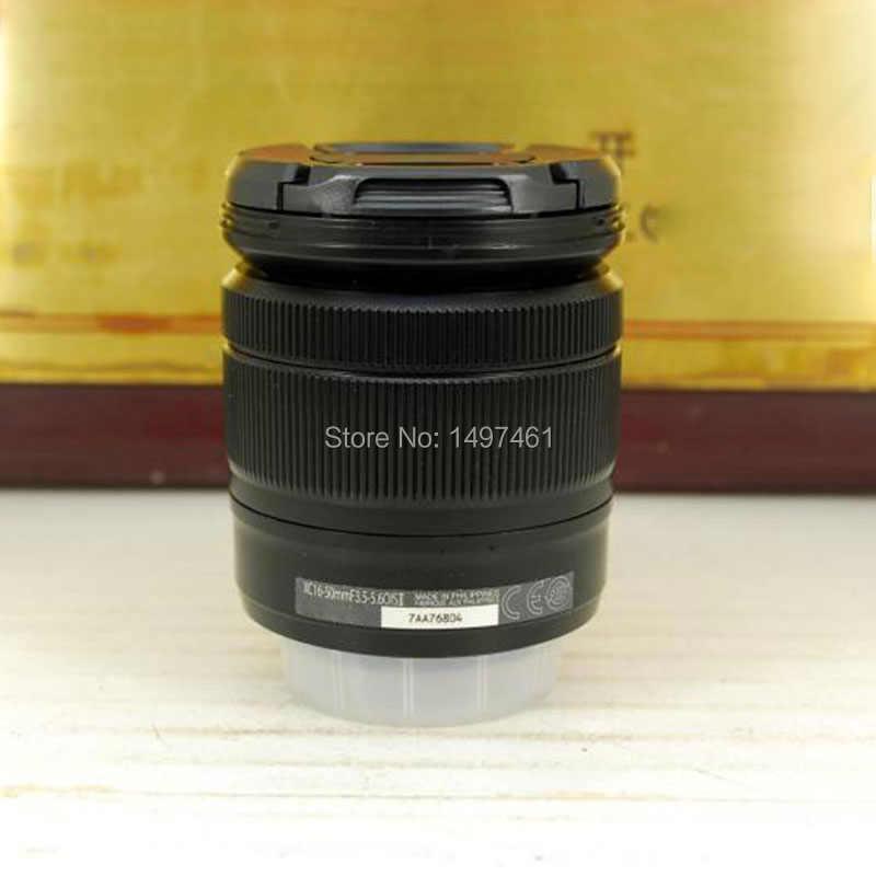 Серебристый/черный XC 16-50mmF3.5-5.6 OIS II объектив с переменным фокусным расстоянием (XC 16-50) для ЖК-дисплея с подсветкой Fujifilm X-A3 X-A5 X-T1 X-T2 X-T10 X-T20 X-T30 X-A20 X-E2 Камера