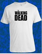 THE WALKING DEAD T-Shirt Men Womens White Daryl Dixon Rick Grimes Gift New T Shirts Funny Tops Tee Unisex