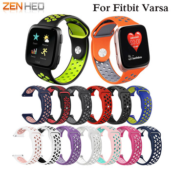 Sport bands For fitbit versa band Sport Silicone wrist strap wristband Replacement Bracelet watchband belt for fitbit versa band colorful silicone replacement sport wristband watch band strap for fitbit versa band smart bracelet wrist strap s l size