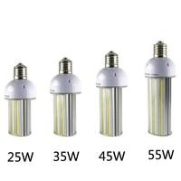 6pcs/lot LED street Light bulb AC85 265V 25w 35w 45w 55W E27/E40 LED street Light led corn light led parking lot light 130LM/W