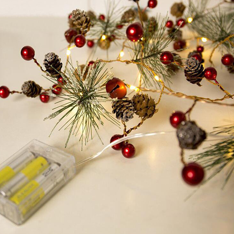Battery Operated Lighted Holiday Garland 5 Star Products Year Of
