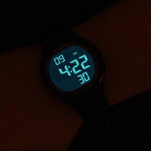 Image 3 - Reloj de pulsera Digital LED para Hombre, Reloj de pulsera deportivo para Hombre, marca de lujo, 100M