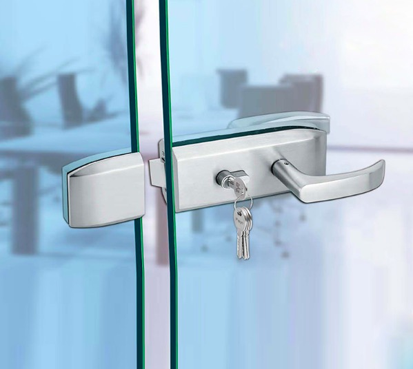 ФОТО Office Partition Door Lock Glass Exterior Door Locks