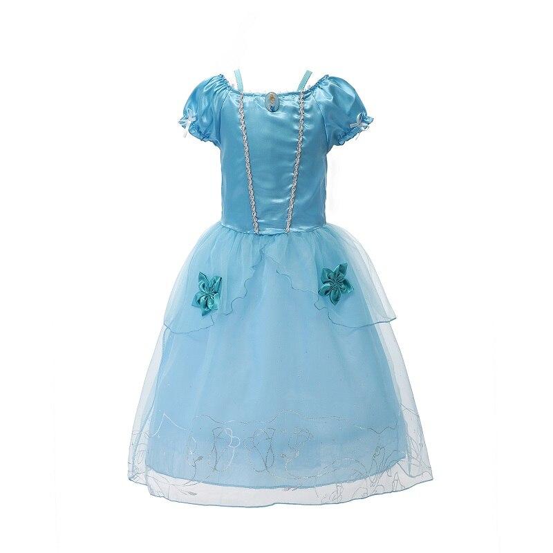 Mädchen Kleidung Mutter & Kinder SchöN 2019 Mädchen Sommer Kleid Kinder Cinderella Schnee Weiß Cosplay Kostüm Baby Mädchen Prinzessin Kleid Rapunzel Aurora Belle Kleid Vestidos
