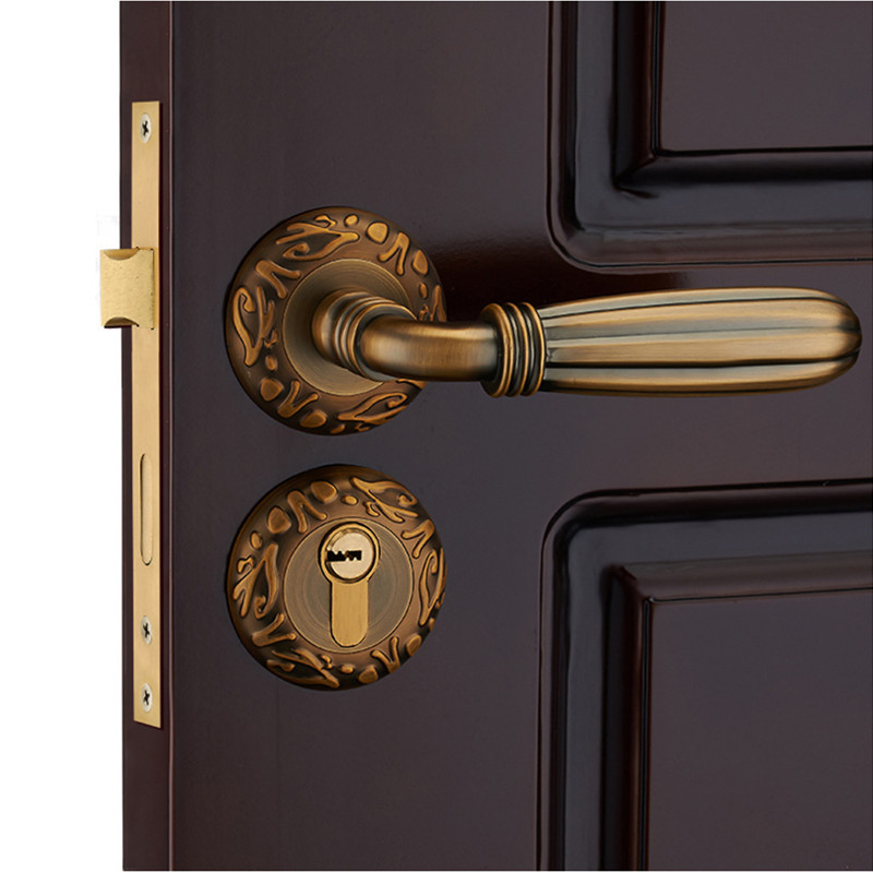 room door locks bedroom wooden door lock big locks mute hardware locks