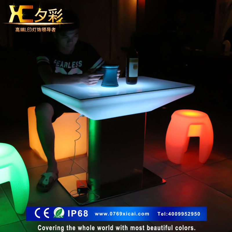 Factory Outlet New Led Light Bar Tail Table Charging Station Remote Ktv Round In Axe From Tools On Aliexpress Alibaba Group