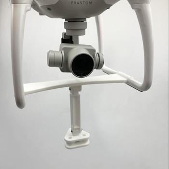 Mocowanie kamery uchwyt na wstrząsy wchłanianie stabilne statyw do kamerki GoPro hero 6 5 4 3 kamery akcji 360 stopni kamery dla DJI Phantom 4 4pro tanie i dobre opinie Drone torby SUNFLYING 0 3kg 20*15*5 Camera Lifting Bracket Holder