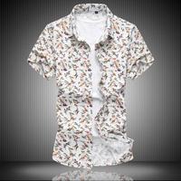 Zeeshant 새로운 도착 브랜드 남성 clothing 셔츠 남성 짧은 소매 캐주얼 슬림 셔츠 플러스 사이즈 6xl 7xl 슈 옴므 하와